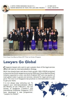 note on lawyers go global